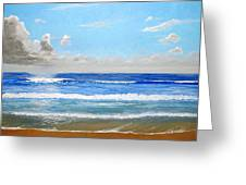 Surfside Morning Greeting Card