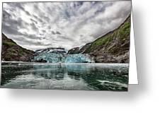 Surprise Glacier Greeting Card