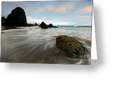 Surrounded By The Tides Greeting Card