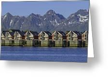 Svolvaer Norway Greeting Card
