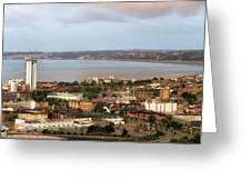Swansea Bay South Wales Greeting Card
