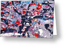 Symphony No 8 Movement 22 Vladimir Vlahovic- Images Inspired By The Music Of Gustav Mahler Greeting Card