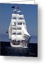 Tall Ship Europa Greeting Card