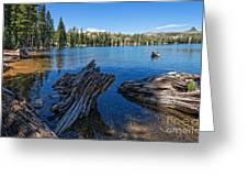Tamarack Lake Greeting Card