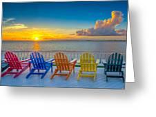 Tampa Bay Sunset Greeting Card