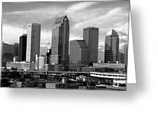 Tampa The Downtown Greeting Card