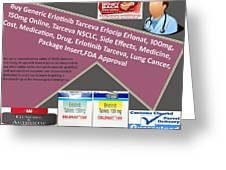 Tarceva Nsclc, Side Effects, Medicine, Cost, Medication, Drug Greeting Card