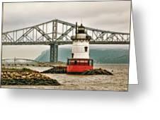 Tarrytown Lighthouse Greeting Card