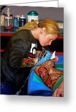 Tattoo 1 Greeting Card