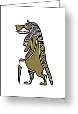 Taweret - Mythical Creature Of Ancient Egypt Greeting Card