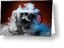 Tea Cup Greeting Card