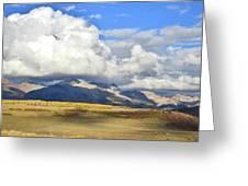 Telluride Skyline From Wilson Mesa Greeting Card