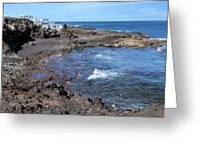 Tenesar - Lanzarote Greeting Card