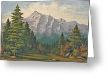 Teton Meadow Greeting Card