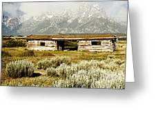 Teton Ranch Greeting Card