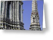 Thailand Temple Architecture Greeting Card