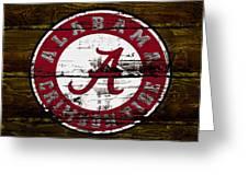 The Alabama Crimson Tide Greeting Card