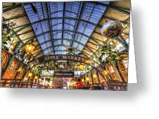 The Apple Market Covent Garden London Greeting Card