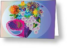 The Arrangement Greeting Card