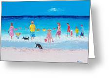 The Beach Parade Greeting Card