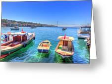 The Bosphorus Istanbul Greeting Card