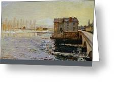 The Bridge Of Moret Greeting Card
