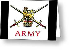 The British Army Greeting Card