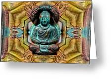 The  Buddhas Of Ayahrtyan  Greeting Card