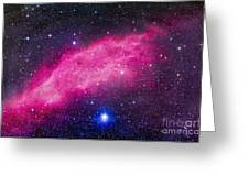 The California Nebula Greeting Card