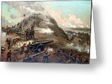 The Capture Of Fort Fisher Greeting Card
