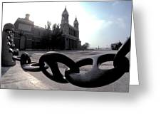 The Chain In Spain Greeting Card