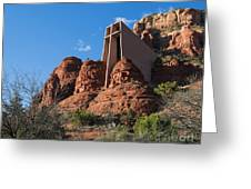 The Chapel Of The Holy Cross Greeting Card