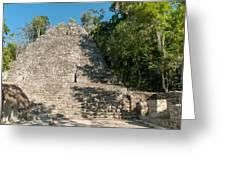 The Church At Grupo Coba At The Coba Ruins  Greeting Card