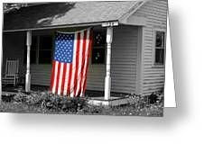 The Colors Of Freedom Greeting Card