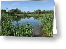 The Cotswold Water Park Greeting Card