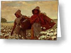 The Cotton Pickers Greeting Card
