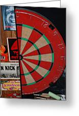 The Dart Board Greeting Card