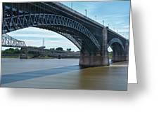 The Eads Bridge Greeting Card