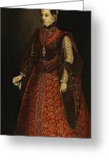 The Empress Isabel Of Portugal Greeting Card