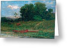 The Farm Landing Greeting Card