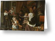 The Feast Of St. Nicholas Greeting Card