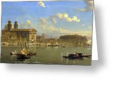 The Giudecca. Venice  Greeting Card