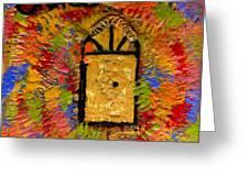 The Golden Door Of Grace Greeting Card