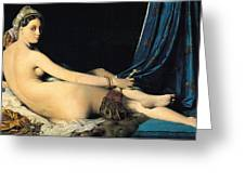 The Grand Odalisque Greeting Card