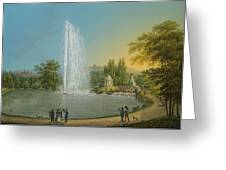 The Great Fountain Greeting Card
