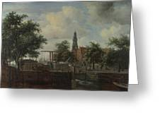 The Haarlem Lock Amsterdam Greeting Card