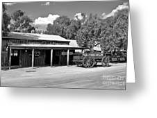 The Heritage Town Of Echuca Victoria Australia Greeting Card