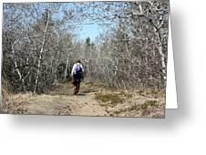The Hike Greeting Card