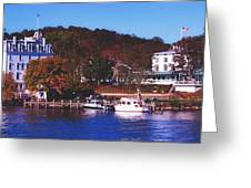 The Historic Goodspeed Opera House Greeting Card