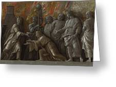 The Introduction Of The Cult Of Cybele At Rome Greeting Card